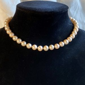 Vintage Classic Marvella Pearl Choker Necklace